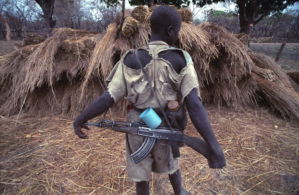 At times the SPLA were challenged for war funds and the cloths they were wearing were literally falling off their backs. During Sudan's long- running civil war. 1993