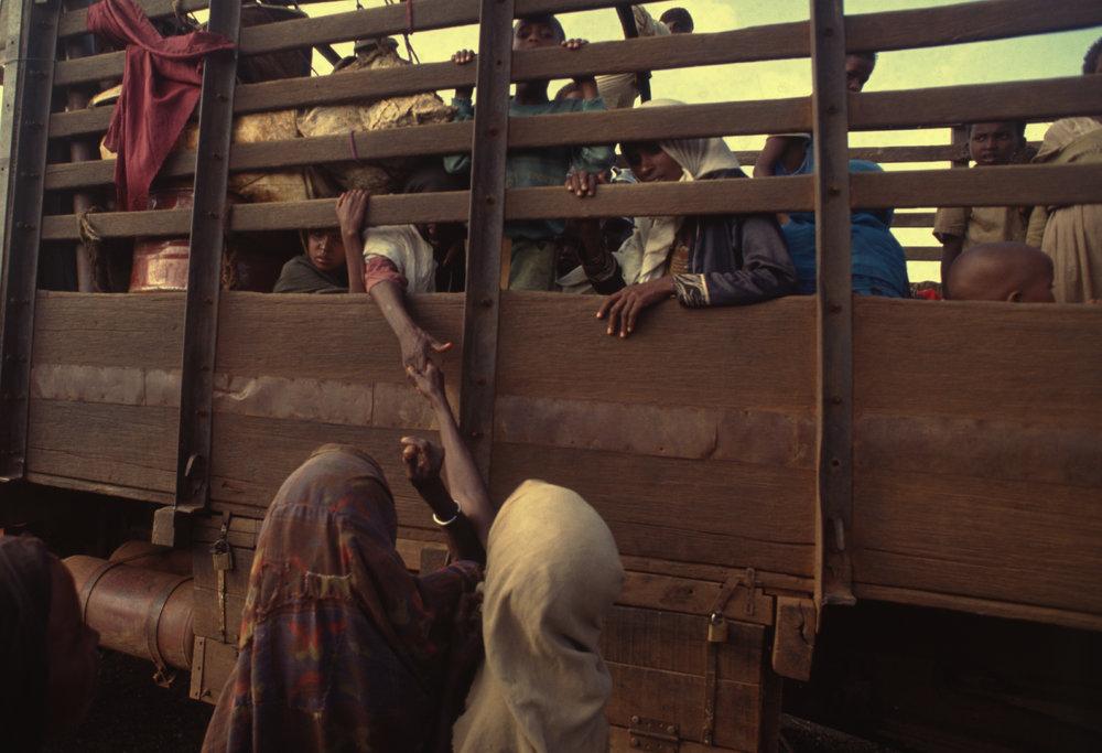 """""""Separation"""" Somalia's catastrophic famine. 1992"""