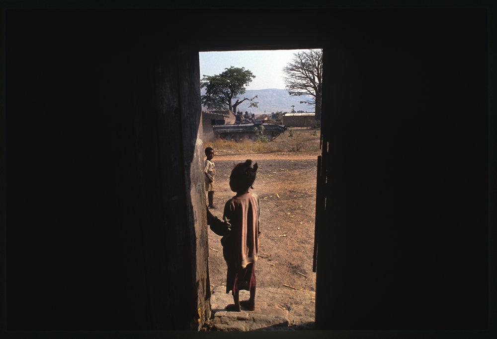 Angola's long-running civil war. 1993