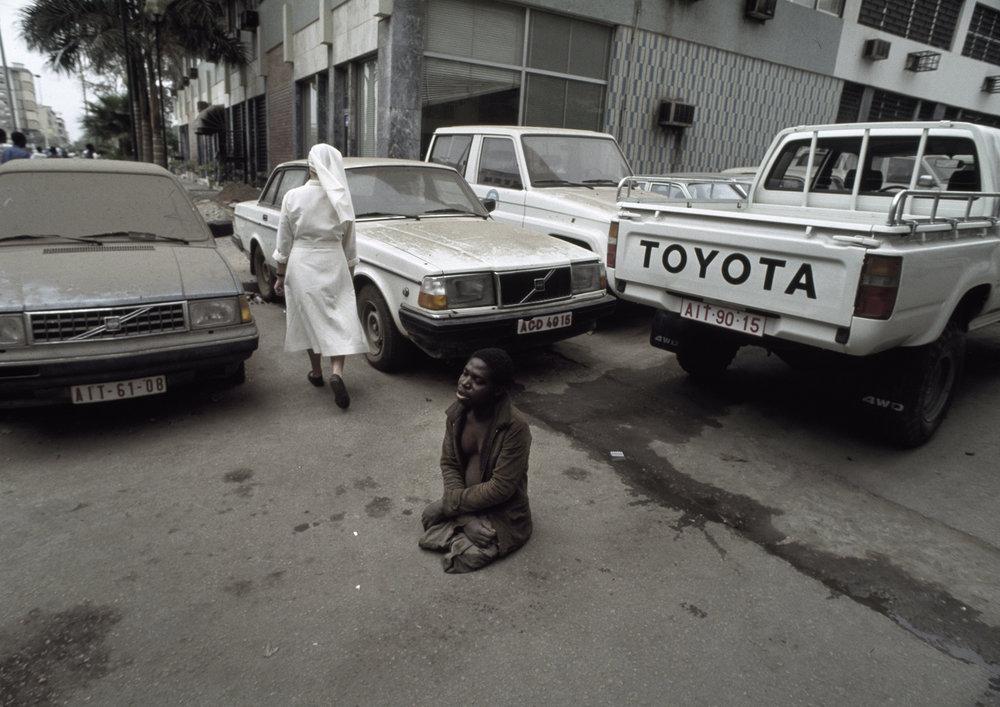 """""""Nun and Begger"""" Monrovia, Liberia.1996"""