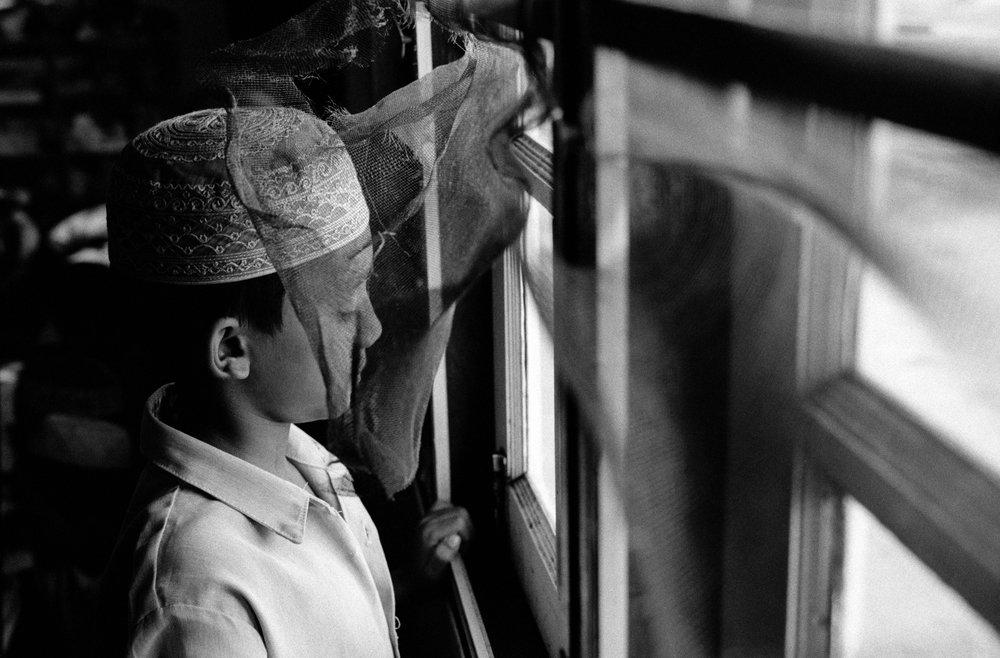 Orphanage for Muslim boys in Mae Sot, Thailand. 2002