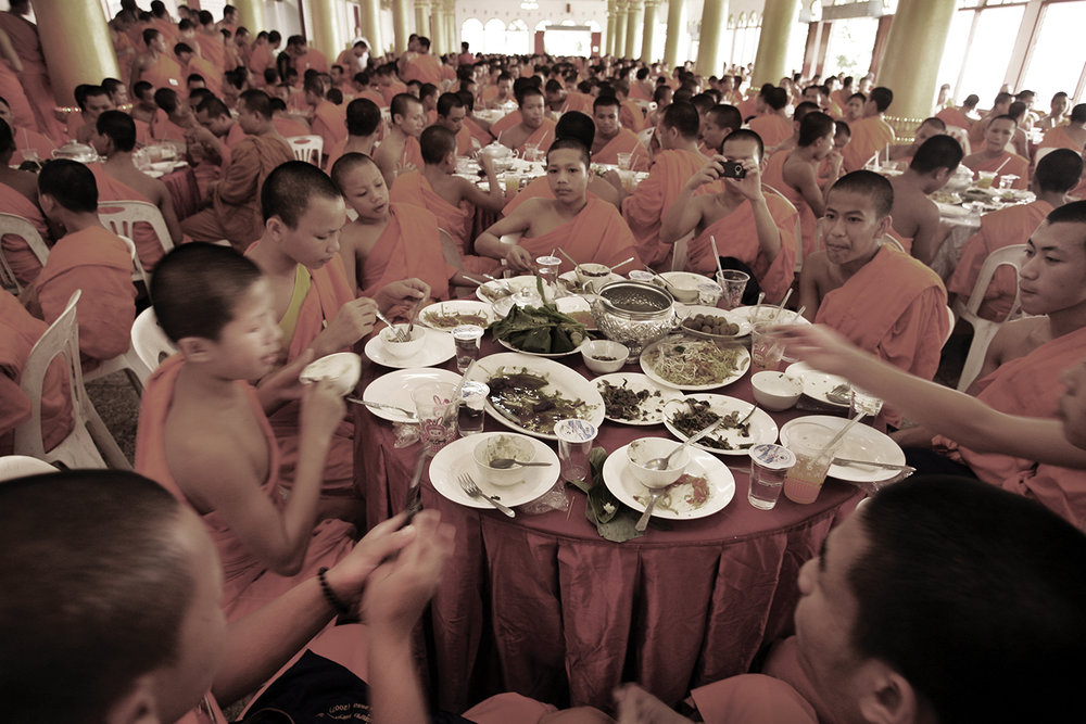 Monks convention. Vientiane, Loas, 2009