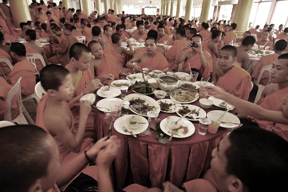 Monks convention. Vientiane, Loas, 2009