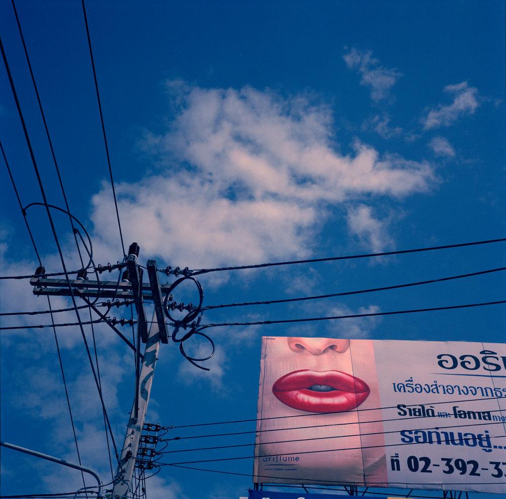 """""""Lip Clouds."""" Chiangmai, Thailand. 2005"""
