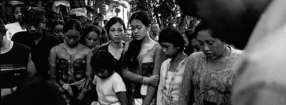 Funeral, Bali. Indonesia. 2001