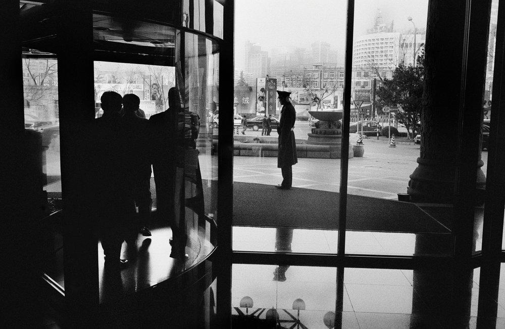 """""""Revolving Door."""" Beijing, China. 2004"""