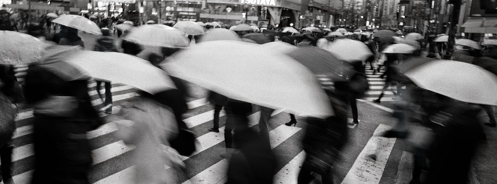 """Crossing."" Shibuya, Tokyo, Japan."