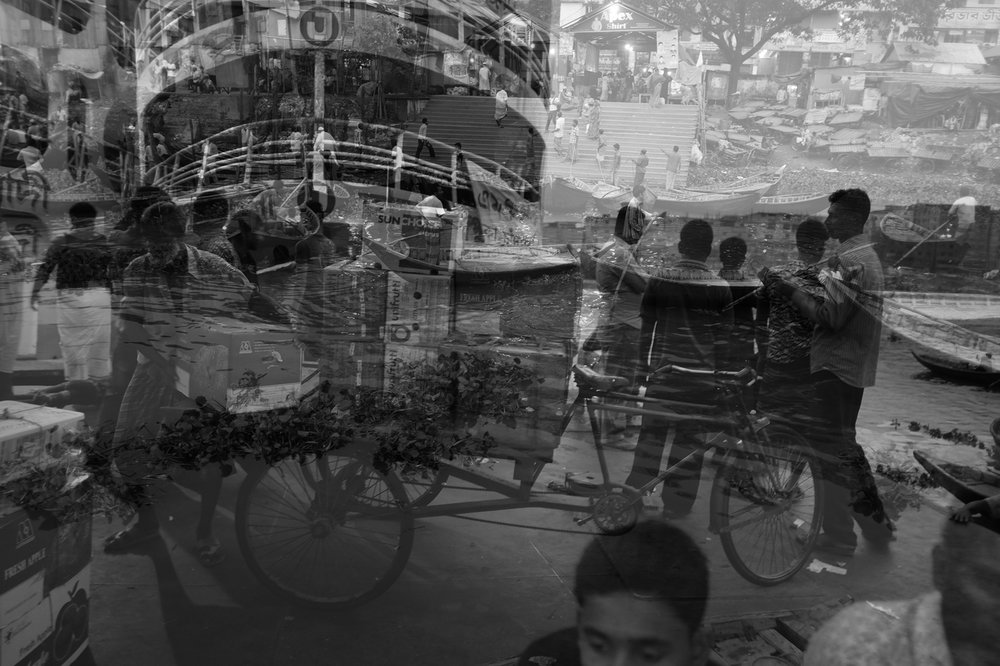 Double Exposure. Dhaka, Bangladesh. 2013