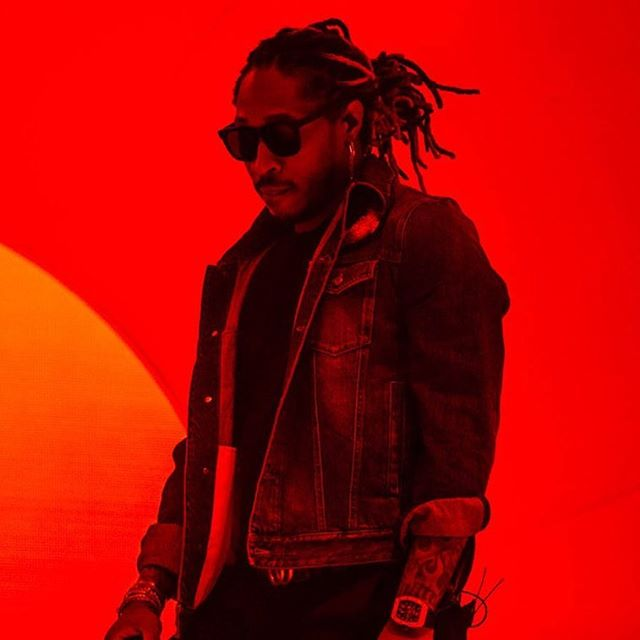 The king of trap - FUTURE - sealed my first time shooting #bonnaroo. 🙌🙌 | shot for @nashvillescene