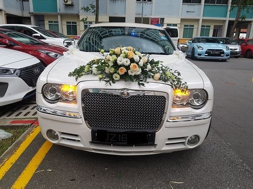 Wedding Car Decoration Altonflowers
