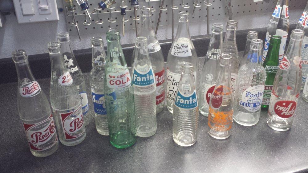 Few bottles laying around :)