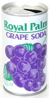 Grape Soda Can