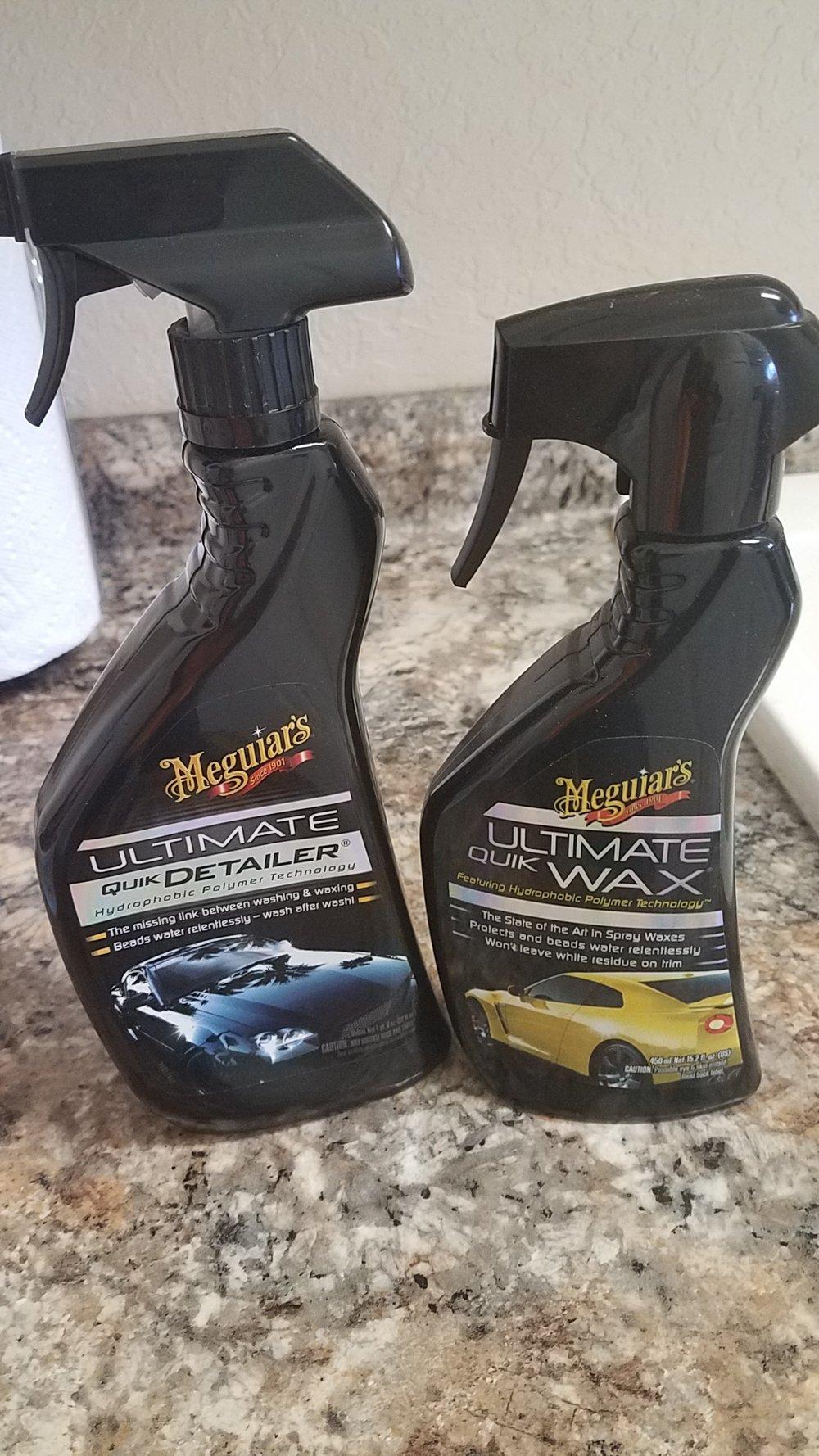 Meguiars Spray Wax (Right)