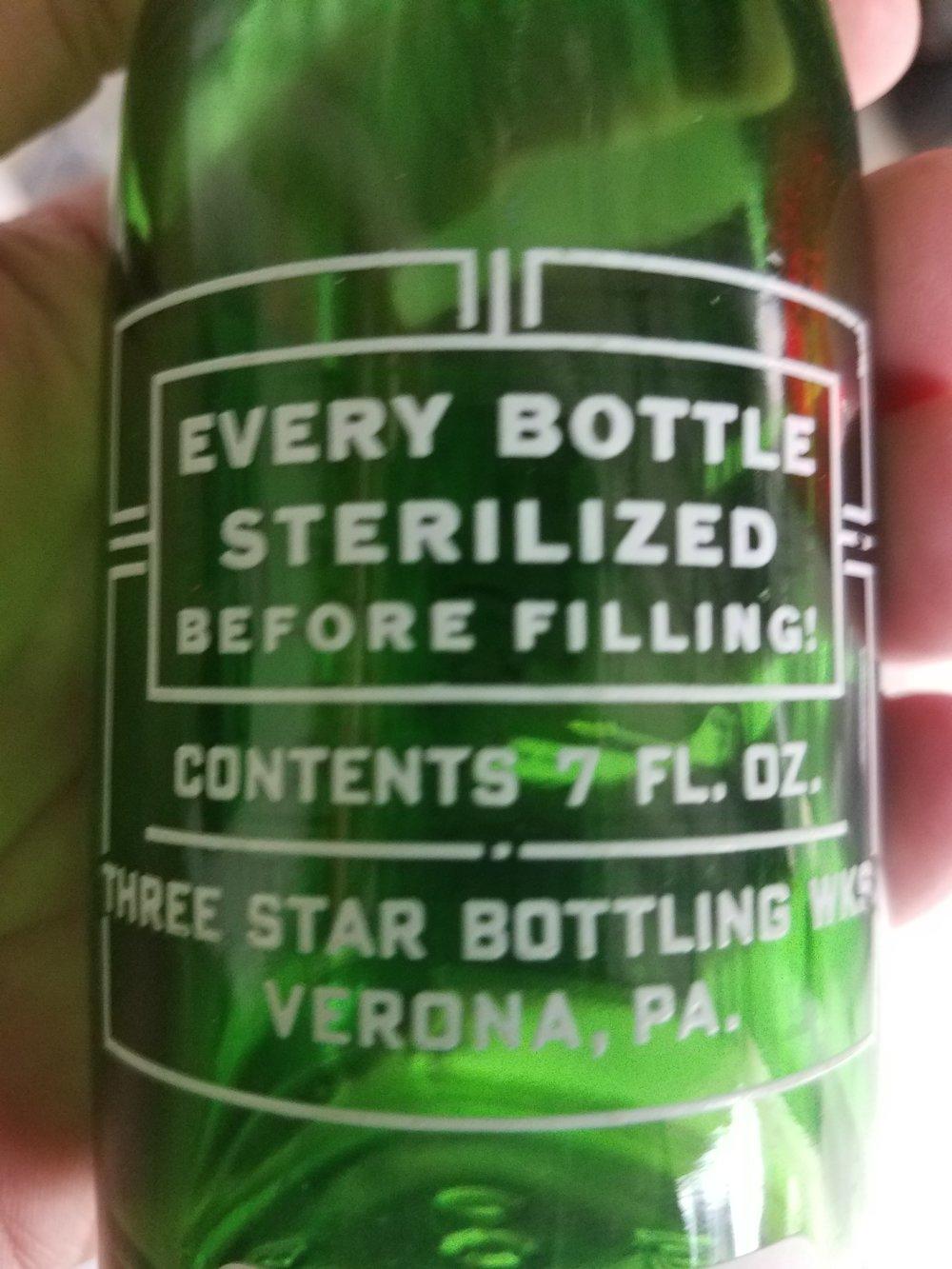 """Every Bottle Sterilized"""