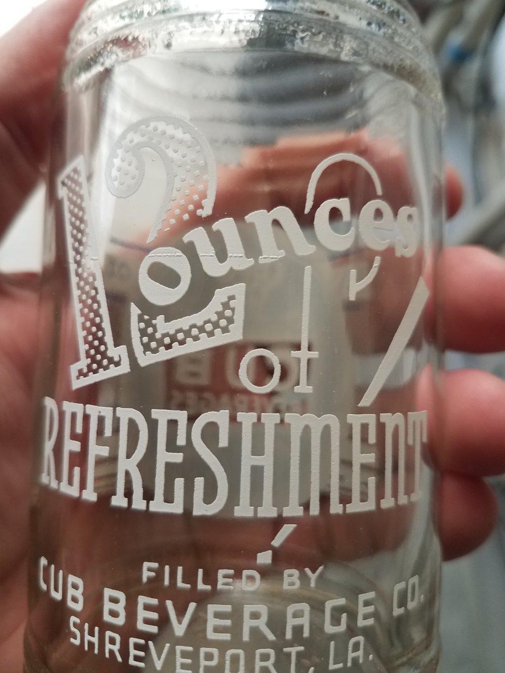 """12 ounces of Refreshment"""