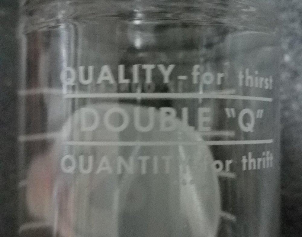 """Double Q"" Quality  Quantity"