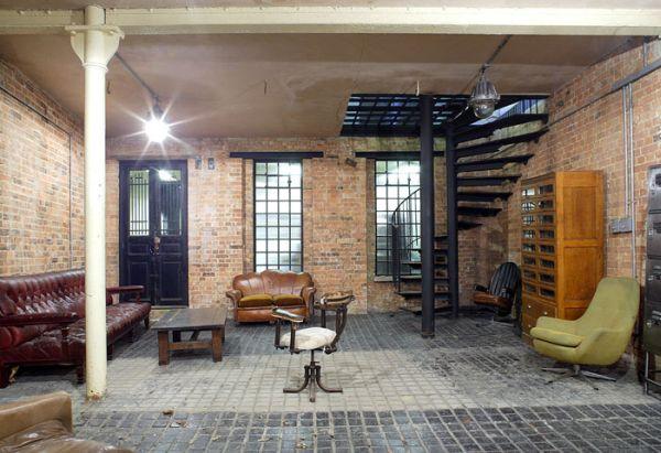 Inside of Roma Lofts