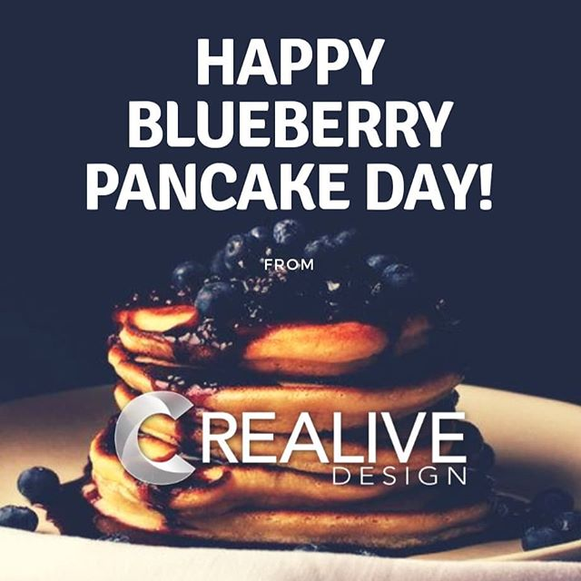 Today we observe National Blueberry Pancake Day, make every moment count on this day. #blueberrypancakeday #motivationmonday . . . . #holiday #celebrate #pancakes #blueberries #funPost #3dprinting #3drendering #cad #business