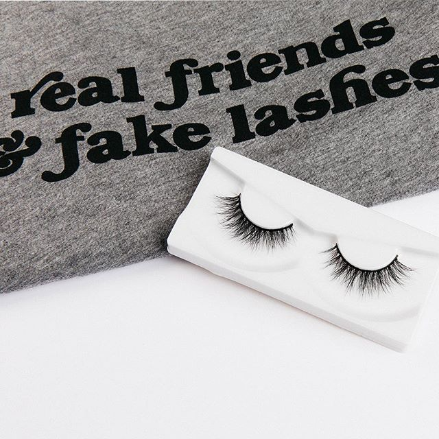 """Real friends & fake lashes."" - @dearlashlove We couldn't have said it better our selves. • • • • #lasheseverlasting #lashlove #lashloveapparel #lashes #minklashes #bestfriends #striplashes #premiumlashes #luxurylashes"