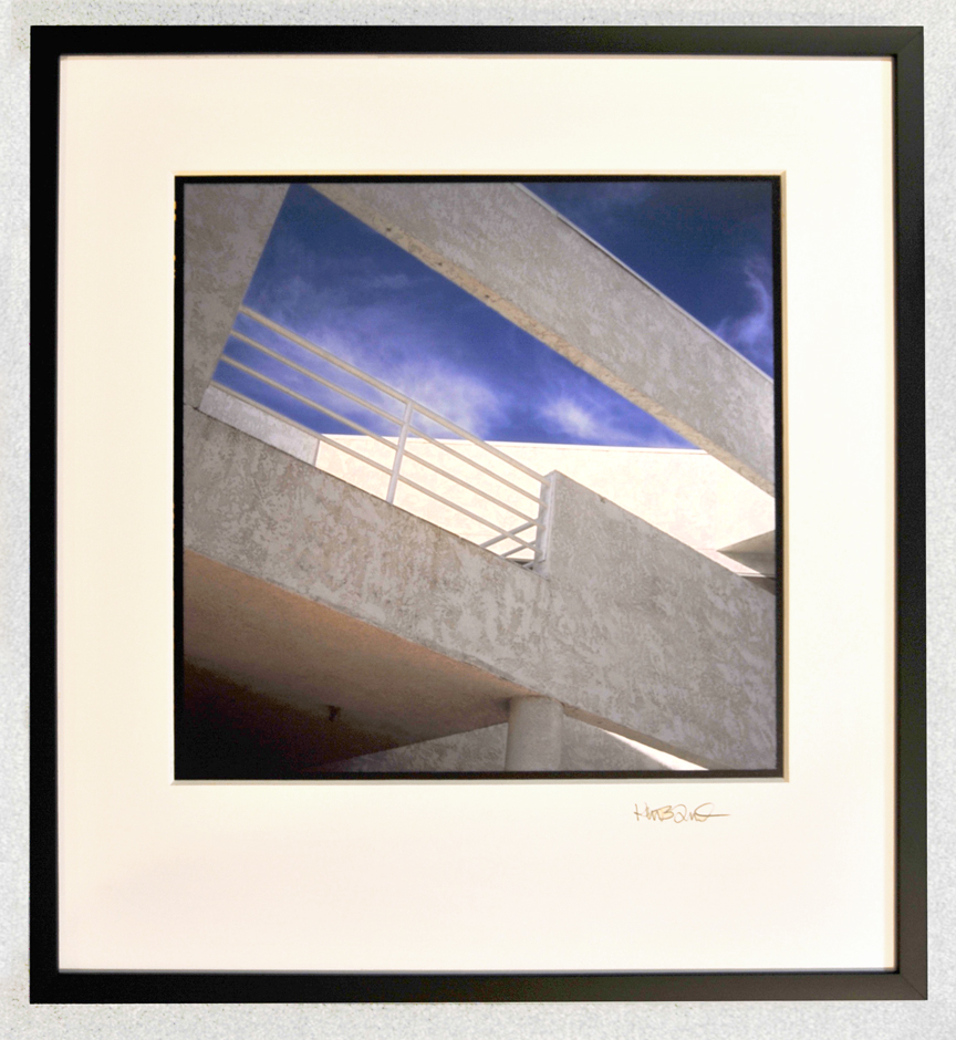 Example of framed image 22 inches by 24 inches overall size.