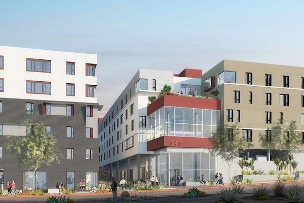 The First Supportive Housing Built with Measure HHHFunds