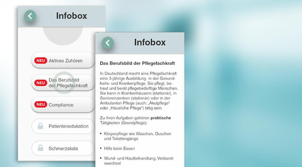 In der Infobox finden Sie Wissenswertes zur Arbeitswelt in Deutschland. -