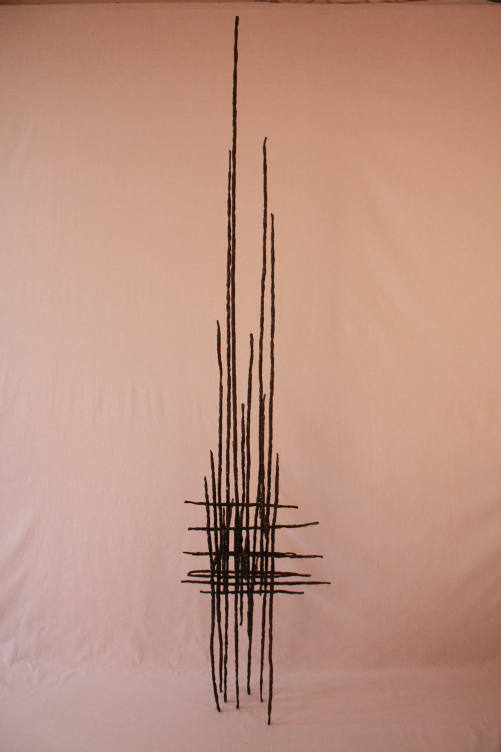 Unknown III - 2014                                Forged Steel 191h x 44 x33 cmSOLD