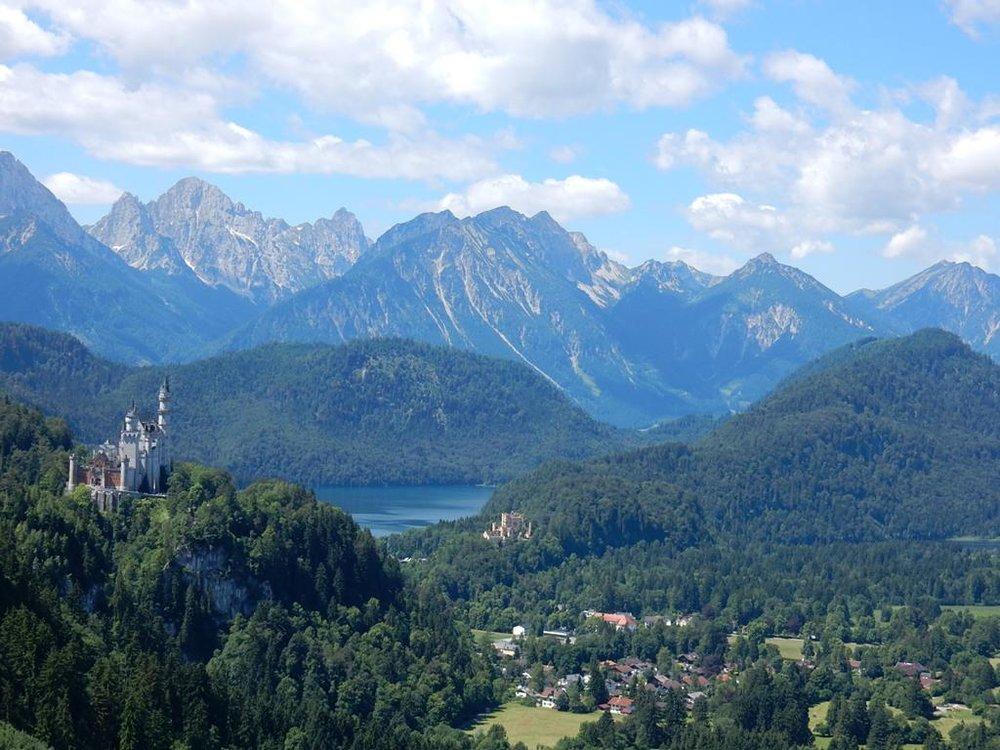 Ammergauer Alpen - 30. Mai bis 02. Juni 2019Königsschlösser & Bergseen