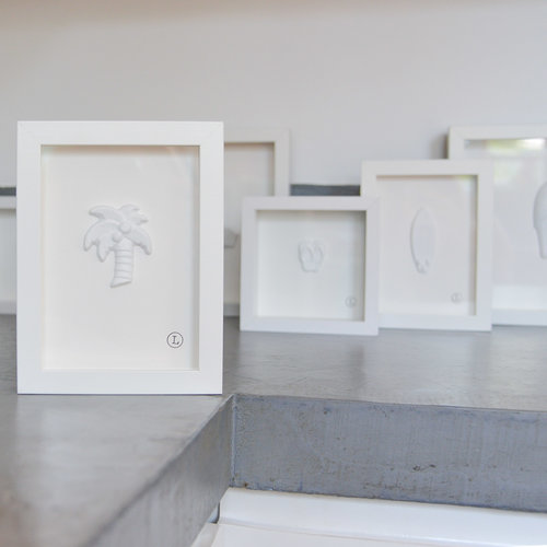 White frames — Lilibird of Paradise