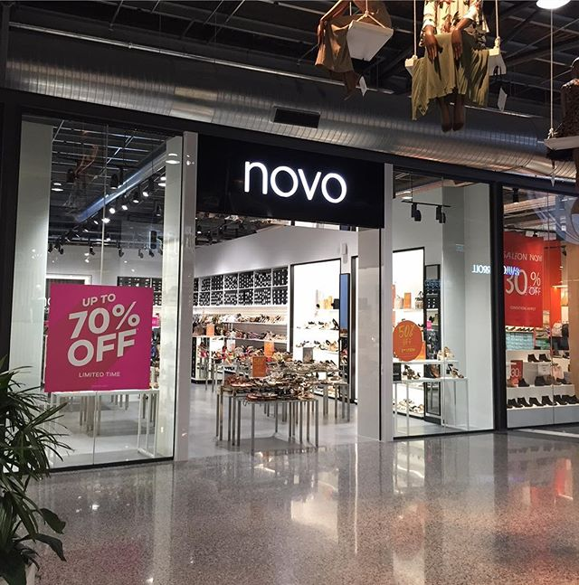 Flashback to last month Novo DFO Perth Airport completed by our team. Thank you to Novo Shoes for the opportunity! . #dfoperth#novoshoes#shopfittinglyf#vicinitycentres