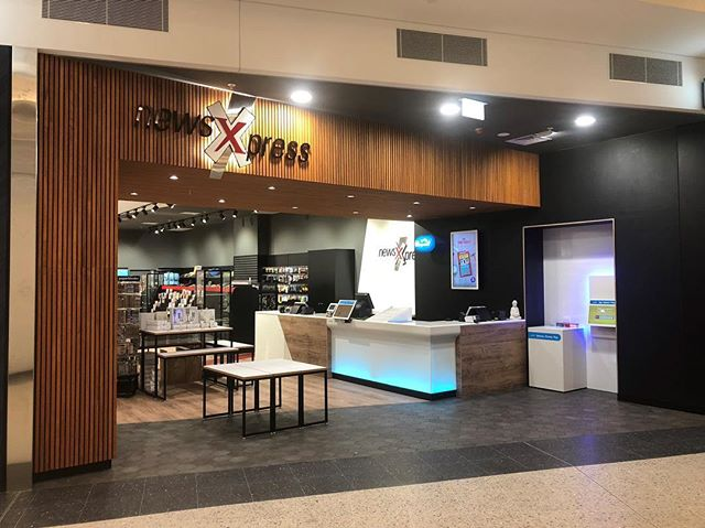 NewsXpress Raine Square, Perth City proudly completed by our team!  #newsxpress#lotterywest#rainesquare#charterhall#builtdevelopmentgroup#perthcity#cityofperth#perthisok#shopfittingperth