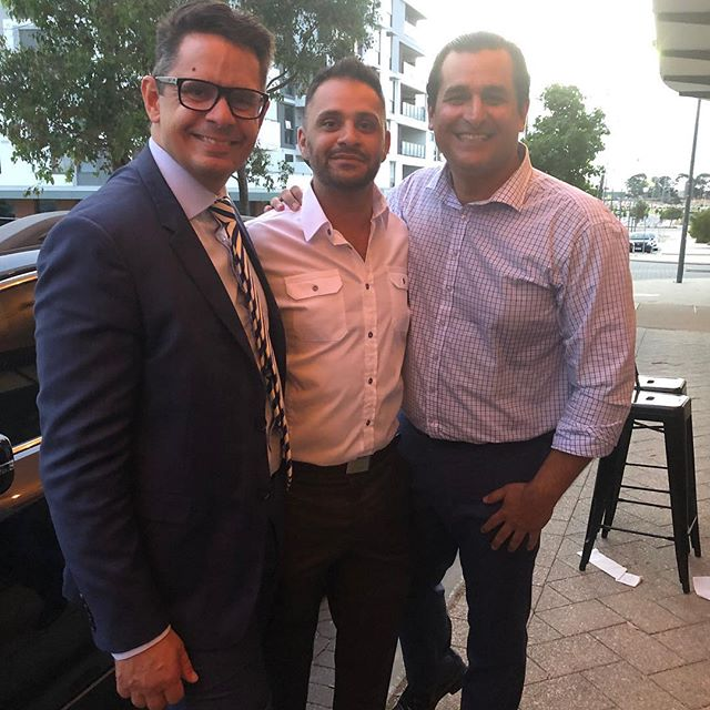 Last night our director attended the Labour Party sundowner at Cafe Royal in Cockburn. Thank you Yaz for the fun evening.  #caferoyalcockburn#mlaparty#yazmubarakai#benwyatt#rogercookmla#sundowner