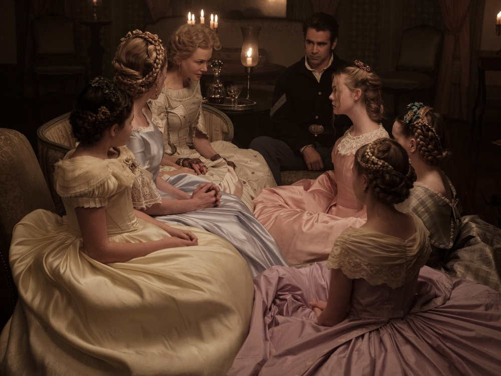 "The Beguiled (2017) - Amanda welcomes new guests and fellow Lady Pod Squad-ers, Justine from The Cutaways, Courtney from Chicks with Flicks and Hannah from Film Roast, to discuss the latest Sofia Coppola film, The Beguiled. Justine calls the film, ""sexual tension: the movie"", Courtney is the resident expert on all things beguiled and beguiling, Hannah dresses as Austen Powers, and Amanda spots a penis metaphor."