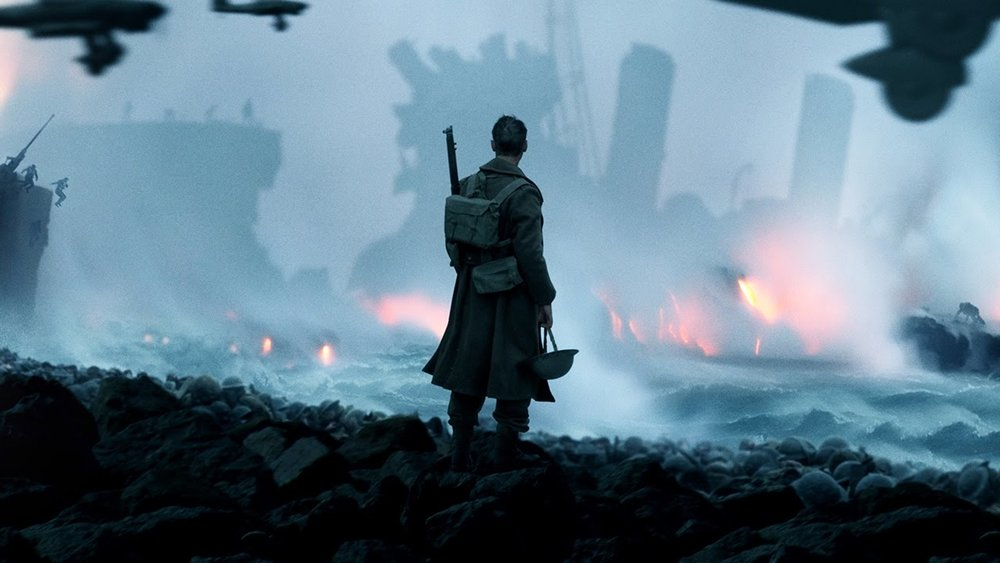 Dunkirk (2017) - Amanda welcomes back regular guests Stephen and Colleen, and her step-brother Max, finally makes his podcast debut. Stephen has a personal connection to the Winston Churchill speech, Colleen points out that there's no way Dunkirk passes the Bechdel Test, Max just wants the characters to catch a break, and Amanda is not a fan of American Sniper. Plus, Colleen and Amanda give shout outs to some awesome high school teachers.