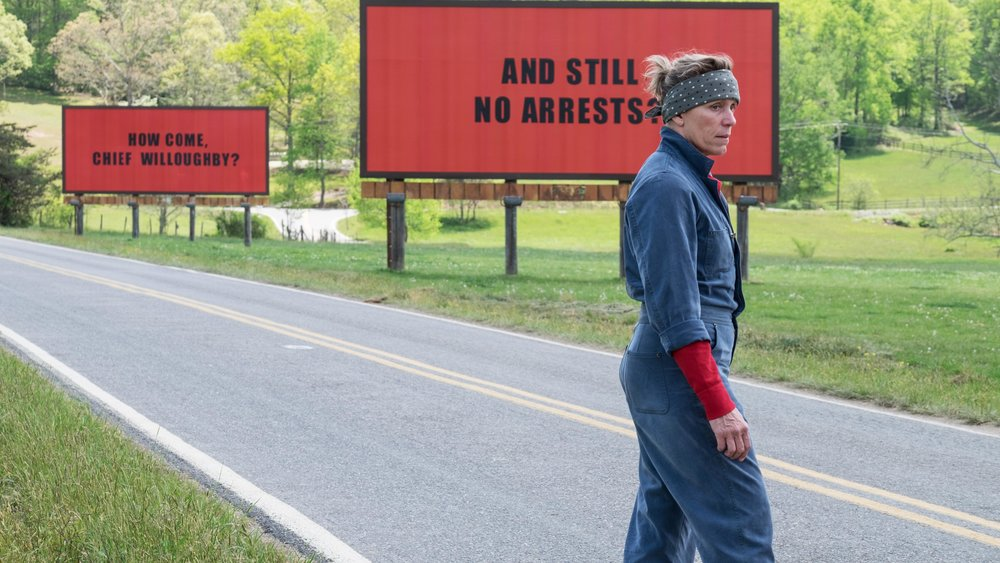 Three Billboards Outside Ebbing, Missouri - Amanda welcomes back podcast regulars Jessica, Stephen and Colleen to discuss the Awards Season powerhouse, Three Billboards Outside Ebbing, Missouri. Jessica is very impressed with Caleb Landry Jones' performance in the film, Stephen thinks Lucas Hedges is the key to getting a movie nominated for an Oscar, Collen doesn't think we should sympathize with Sam Rockwell's character, and Amanda has some issues with how couples sit at table together.