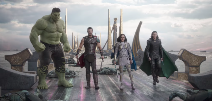 Thor: Ragnarok - Amanda is back with an A-List group of Marvel fans—Marianne, Keith, Casey and Tim—to discuss Thor: Ragnarok. Marianne is not happy with the portrayal of Skurge, Keith appreciates the arc of the Thor trilogy, Casey is enraged by things the trailers gave away, Tim has Thanos fatigue, and all Amanda wants is a shirtless Jeff Goldblum.
