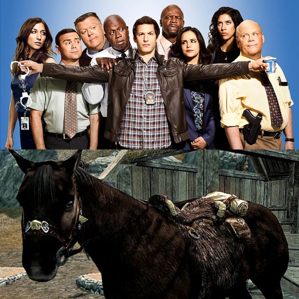 16. Catching Up & Faythe's Horse Adventure  - Amanda, Brenda and Faythe are back to catch up on what pop culture they've been watching, playing and more. They discuss what helped them get through grieving and Faythe has a horse that does weird stuff in Skyrim. Plus, everyone decides which Brooklyn 99 character they would be.