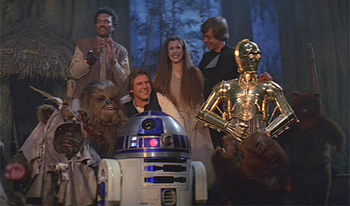 Star Wars: Return of the Jedi - Amanda welcomes back Star Wars newbie, Joe Morales, as well as long time Star Wars fan Chris I., to discuss the finale to the original trilogy, Return of the Jedi. Joe is thrown by the altered ending even though he hadn't seen the movie before, Chris doesn't understand why Boba Fett is such a big character for some fans, and Amanda still loves the Ewoks as an adult.