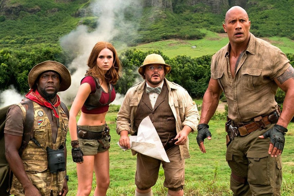 Jumanji: Welcome to the Jungle - Amanda welcomes back Joe Morales to discuss the hit sequel, Jumanji: Welcome to the Jungle. Joe has a super awesome grandma, Amanda grew up on the original Jumanji and they both share tales of playing video games growing up.