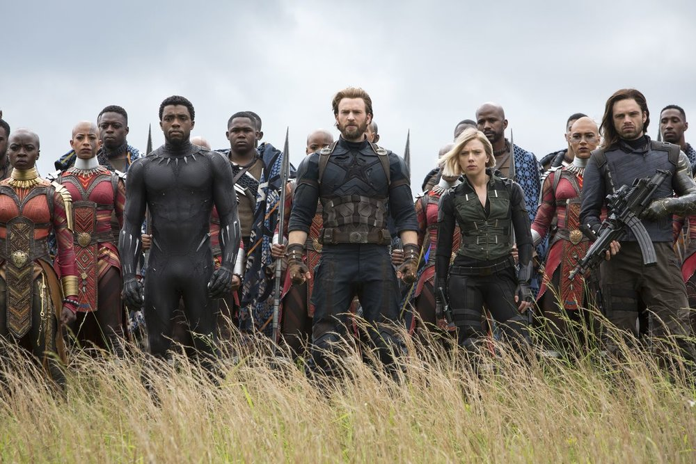 Avengers: Infinity War - Amanda has an all-star crew, including Brittney, Jessica, Marianne, Keith and Sean, on the show to discuss Avengers: Infinity War. Brittney is still shell shocked from seeing the film so recently, Jessica has been having ALL CAPS conversations about the movie, Marianne still finds Killmonger attractive, Keith is happy the film isn't a standalone movie, Sean enjoys the comedy throughout the film, and Amanda loves the way Marvel is pushing the boundaries of what cinema can be.