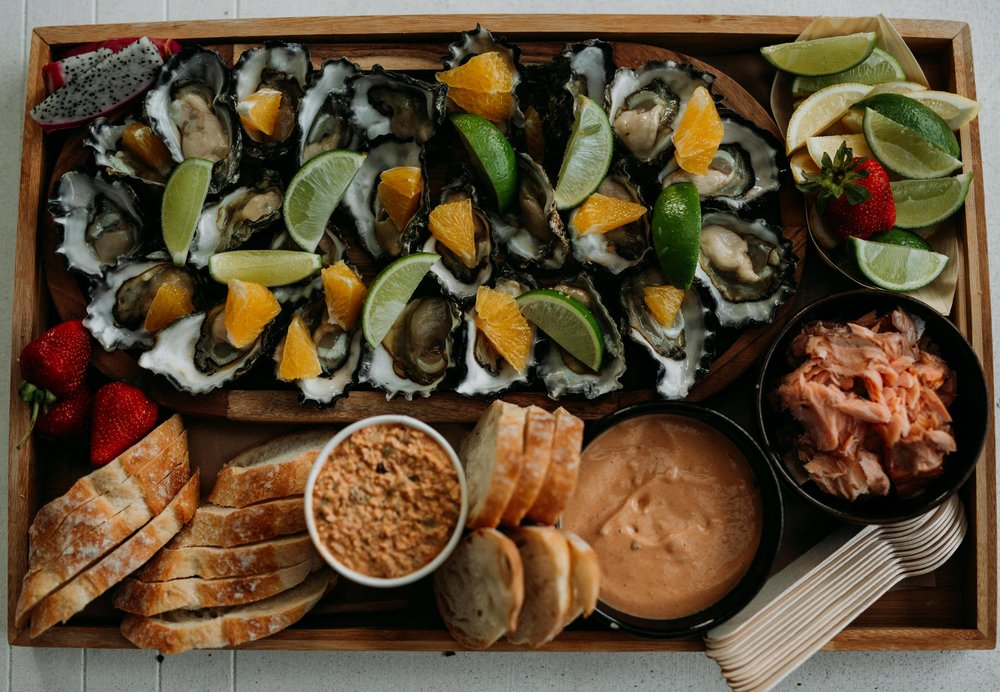 By the ocean - Seafood Platter