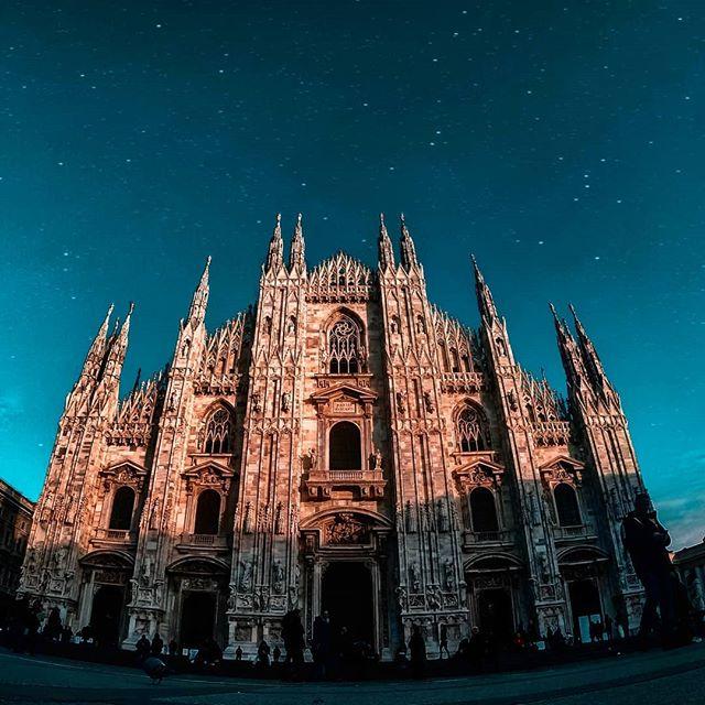 Buona sera da Milano