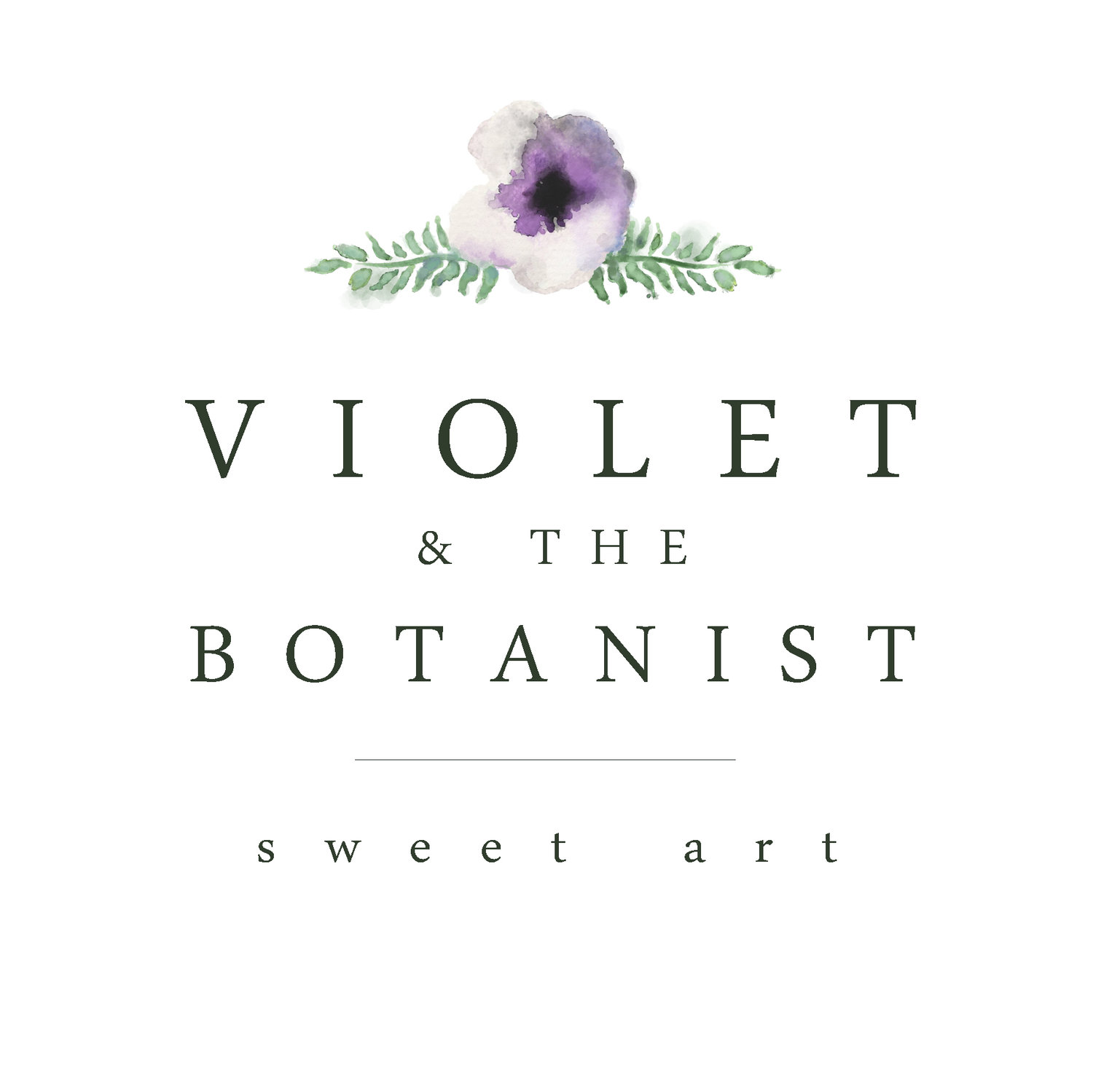 Violet and the botanist