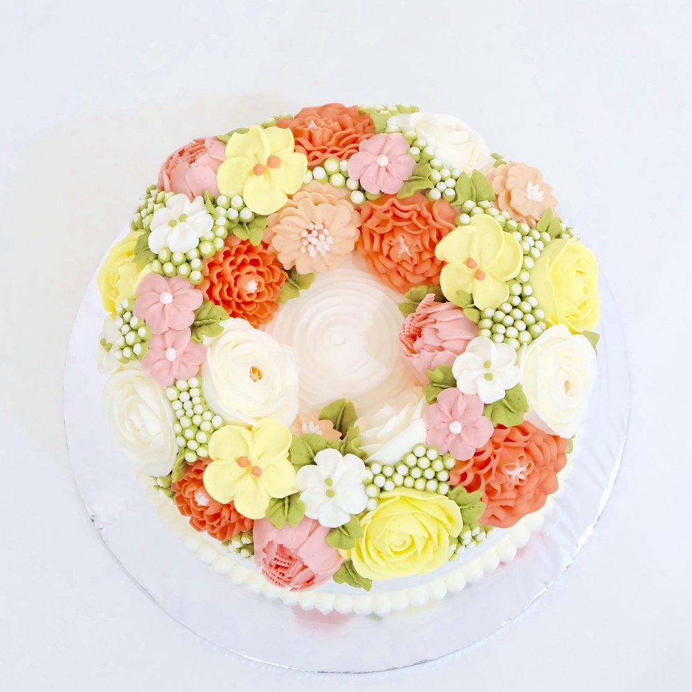 Flower Wreath Décor - Ø18 cm - Rp. 600.000,-Ø22 cm - Rp. 900.000,-Ø26 cm - Rp. 1.200.000,-
