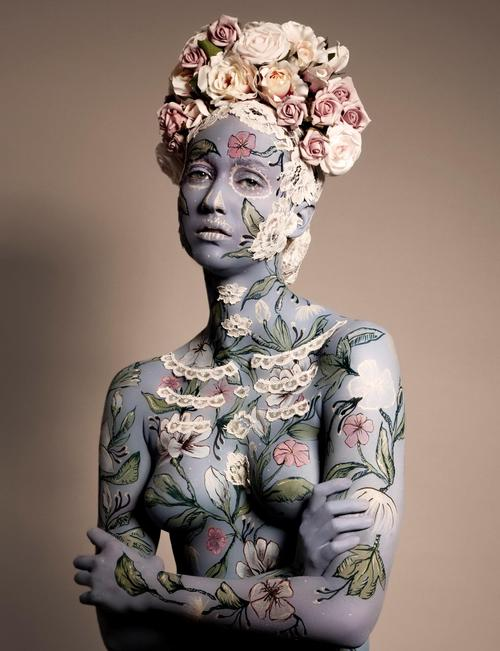 A body art of mine from a while ago shot by Kristian Taylor-Wood.