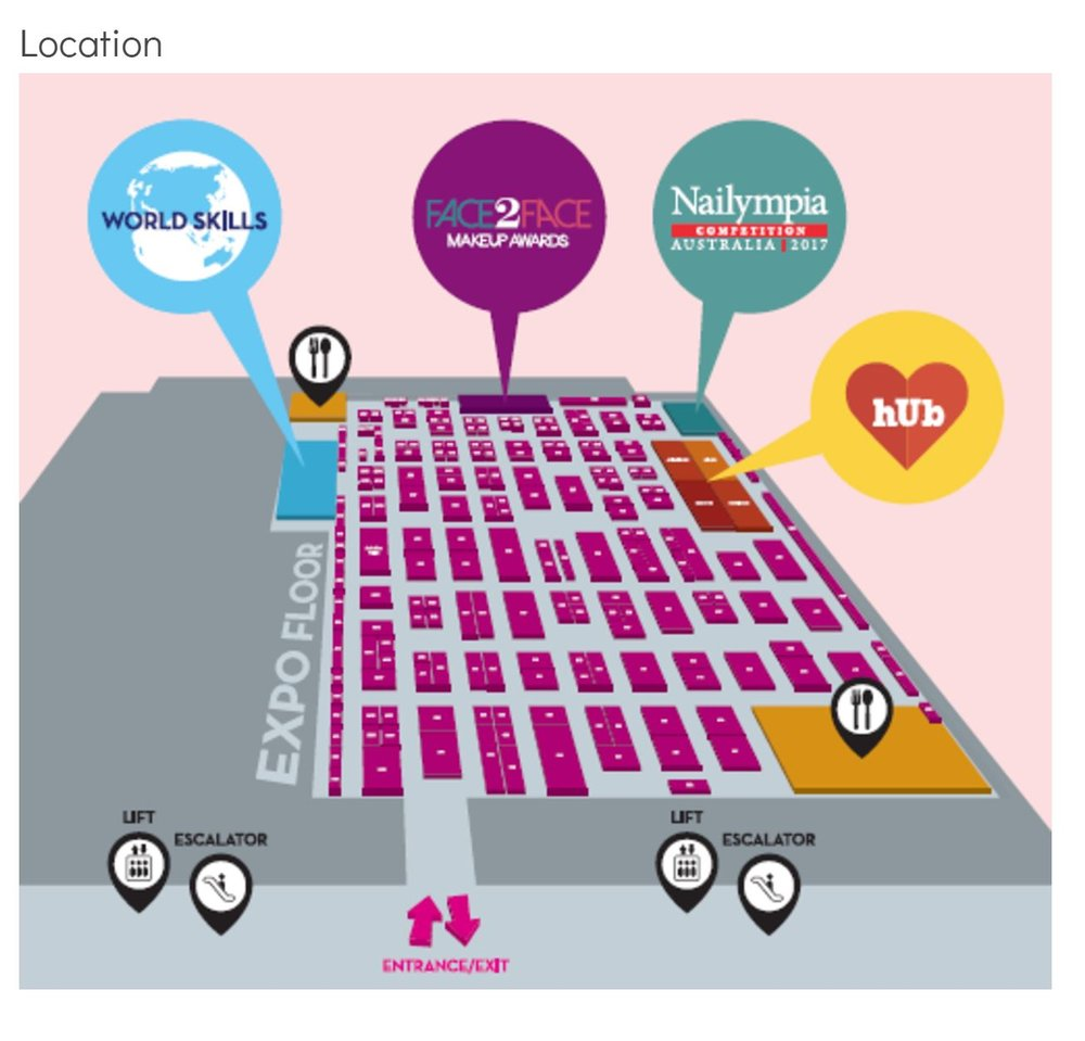 Here's a map of the new venue... the ICC at Darling Harbour. Come see us up the back!!