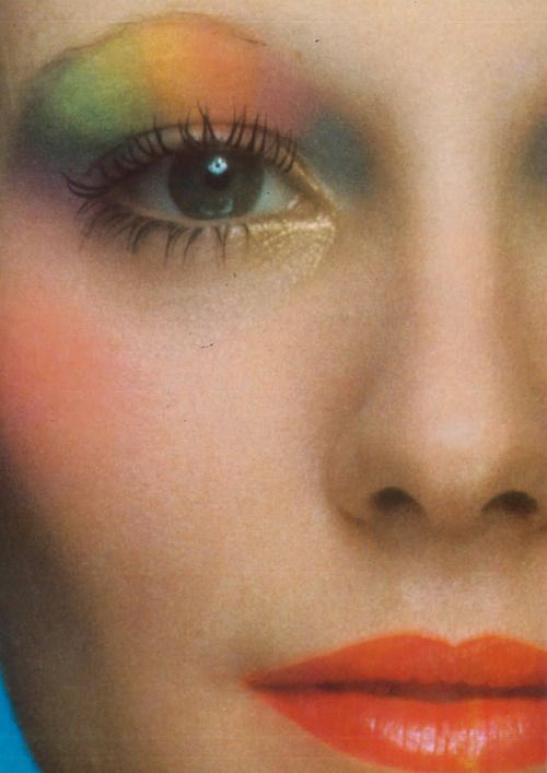 Denise Hopkins - Vogue Italia by Barry Lategan, April 1971