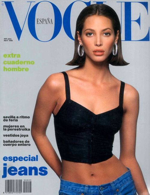 Christy Turlington for VOGUE Espana 1990