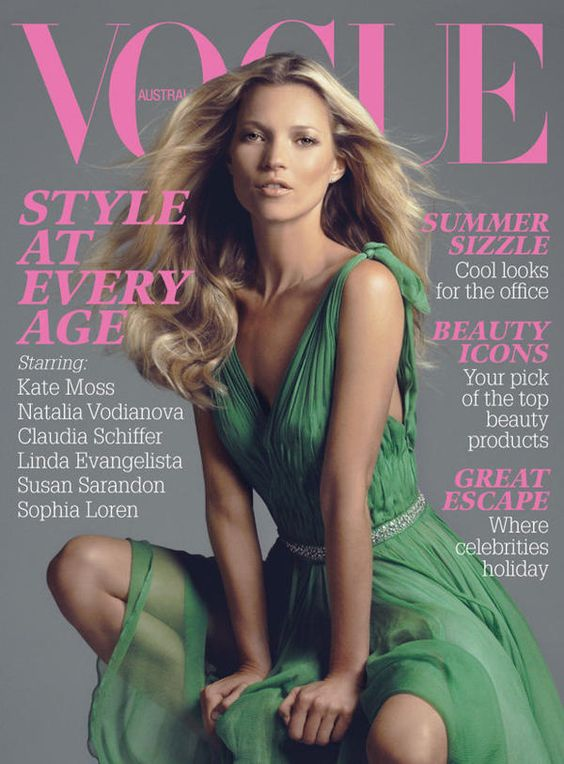 Vogue Australia February 2006 - Kate Moss