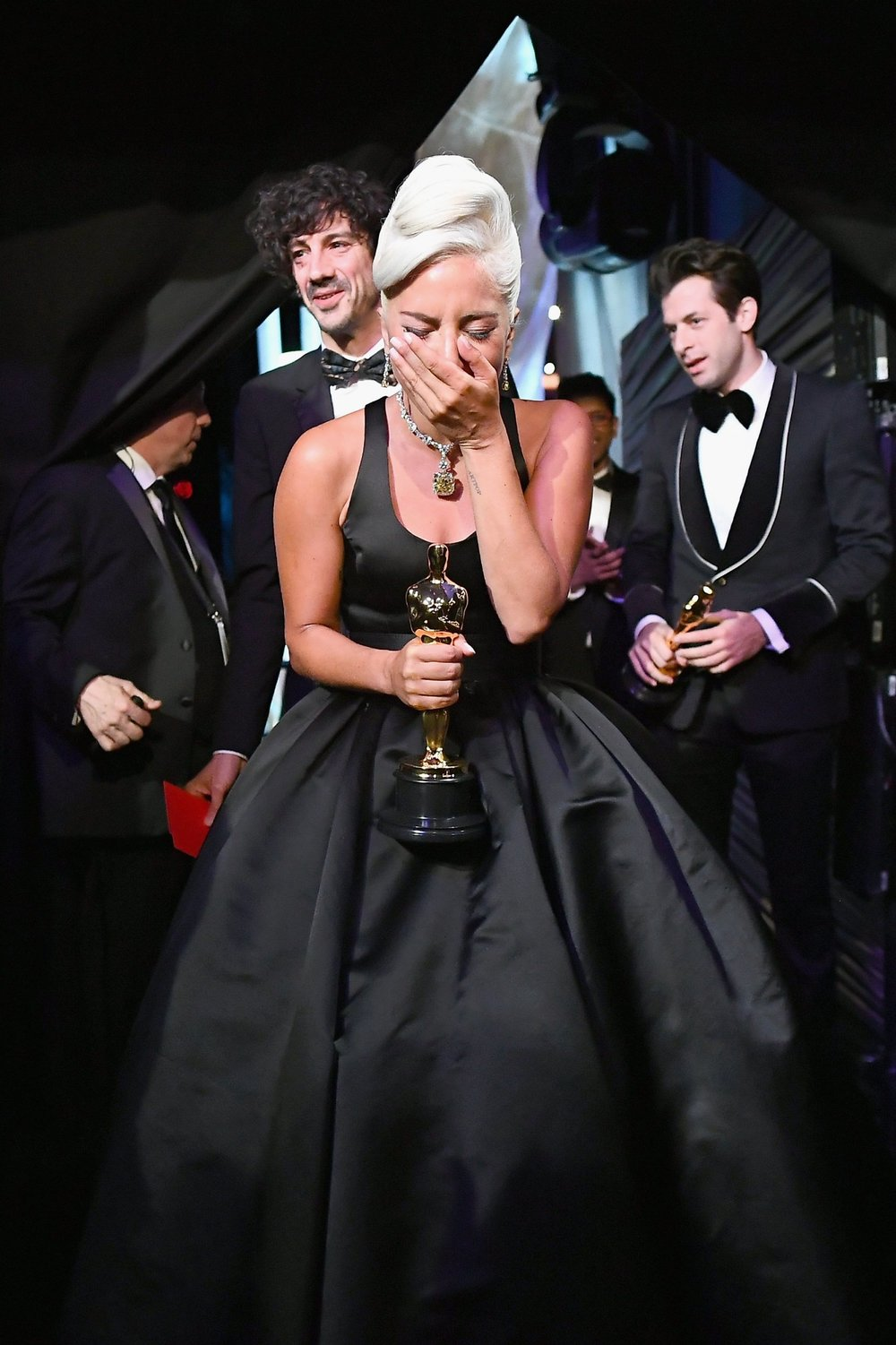 And the Oscar for Best Original Song goes to - Music and Lyric by Lady Gaga, Mark Ronson, Anthony Rossomando and Andrew Wyatt